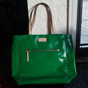 Beautiful green tote from Kate spade